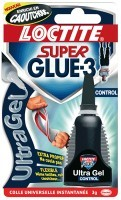 Colle super glu liquide - tube de 3g