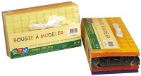 Cire a modeler 1300g, 6 teintes vives assorties