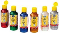 Gel paillete assorti - Lot de 6 flacons de 250ml