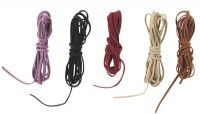 Fil cordon velours de 2m - Lot de 5