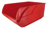 Bac a bec en polypropylene 240x128x150mm rouge