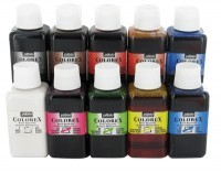 Encre a dessiner colorex de Pebeo - Lot de 10 flacon de 250ml