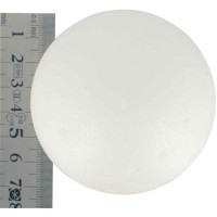 Boule polystyrene diam 70mm - Lot de 5