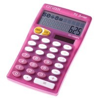 FC-100NPK - Calculatrice scolaire rose