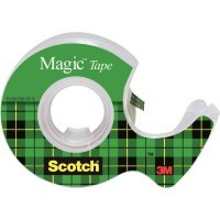 Rouleau scotch magic 19x7,5m devidoire