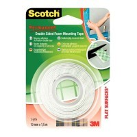 Rouleau scotch fixation 1,5m 19mm