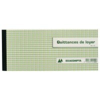 Quittances de loyer Exacompta 100x160mm - carnet de 50