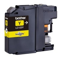 Cartouche Brother LC123 Jaune