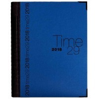 Agenda journal 29 spirale Bleu Time