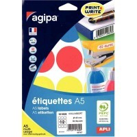 Etui de 84 pastilles 45mm multi-usage couleurs assorties