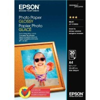 Papier photo brillant - A4 (210 x 297 mm) - 200 g/m2 - 20 feuilles