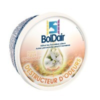Boite gel destructeur d'odeur flacon orange