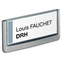 Plaque de porte 149x52.5mm CLICK SIGN