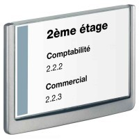 Plaque de porte 210x148.5mm CLICK SIGN