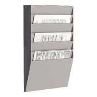 Trieur horizontal comprenant 6 cases A4.