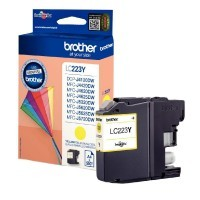 Cartouche jet d'encre Brother LC223 jaune
