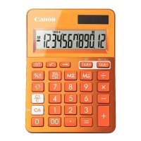 Calculatrice de bureau LS123K orange