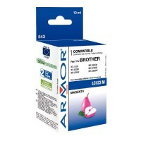Cartouche d 'encre compatible Brother LC123 magenta