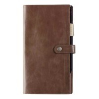 Agenda Kent 16s lisse taupe