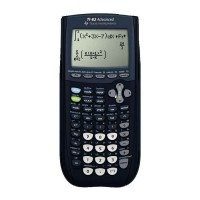 Calculatrice graphique Texas Instruments TI82 Advanced.