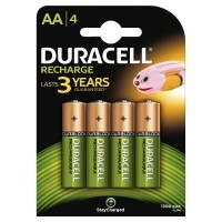 Blister de 4 accu DURACELL AA 1300A PLUS POWER