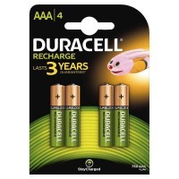 Blister de 4 accu DURACELL AAA 750A PLUS POWER