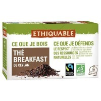 Sachet the breakfast bio - Boite de 20