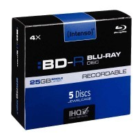 BD-R Blue-Ray Recordable 25 Go - Paquet de 5