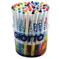 Feutres Turbo Glitter - Pot de 72