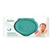 Lingettes Pampers sensible - Paquet de 56