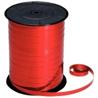 Bobine 250m x 7mm bolduc metal rouge