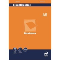 Bloc direction 80 feuilles microperforées détachables A6 (10,5x14,8 cm) 5x5 70g