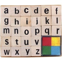 L/'alphabet Majuscule Tampon A Imprimer Cl80 Crea Lign/'