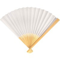 Eventail en papier - Lot de 10