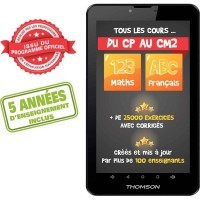 Tablette Thomson TEO-QD7BK8E en 7'' version Primaire
