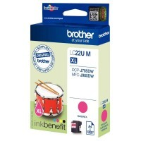 Cartouche jet d'encre Brother LC22UM Magenta