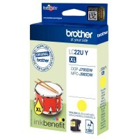 Cartouche jet d'encre Brother LC22UY Jaune