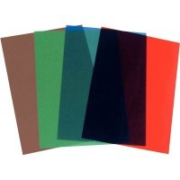 Couvertures PVC 20/100 A4 couleurs assorties - Paquet de 100