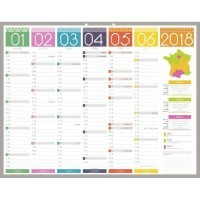 001166 - Calendrier tendance medium 40x55 cm