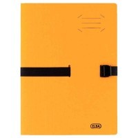 Chemise a sangle clip n go jaune / orange