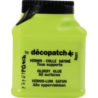 Vernis colle plastique - pot de 150g