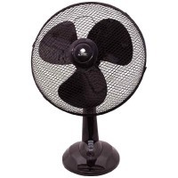Ventilateur de table 3 vitesses 45cm Noir