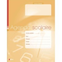 Agenda scolaire 80 pages 17x22