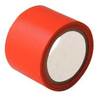 Rouleau adhesif toile 38x2,7m rouge