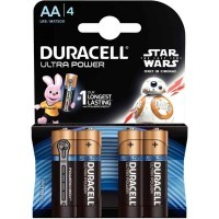 Pile 1,5v LR06 AA Duracell Ultra Power - Blister de 4
