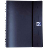 Agenda semainier office 10x15 cm bleu