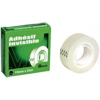 Rouleau adhesif invisble 19x33 first