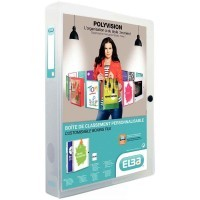 Boxing transparent personnalisable polypropylène dos 40 incolore