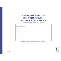 Registres sociaux 'unique d'inscription du personnel'