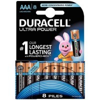 Pile 1,5v LR03 AA Duracell Ultra Power- Blister de 8